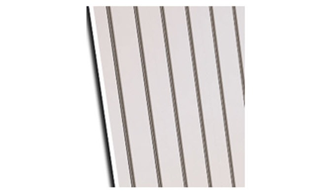 Grooved MDF