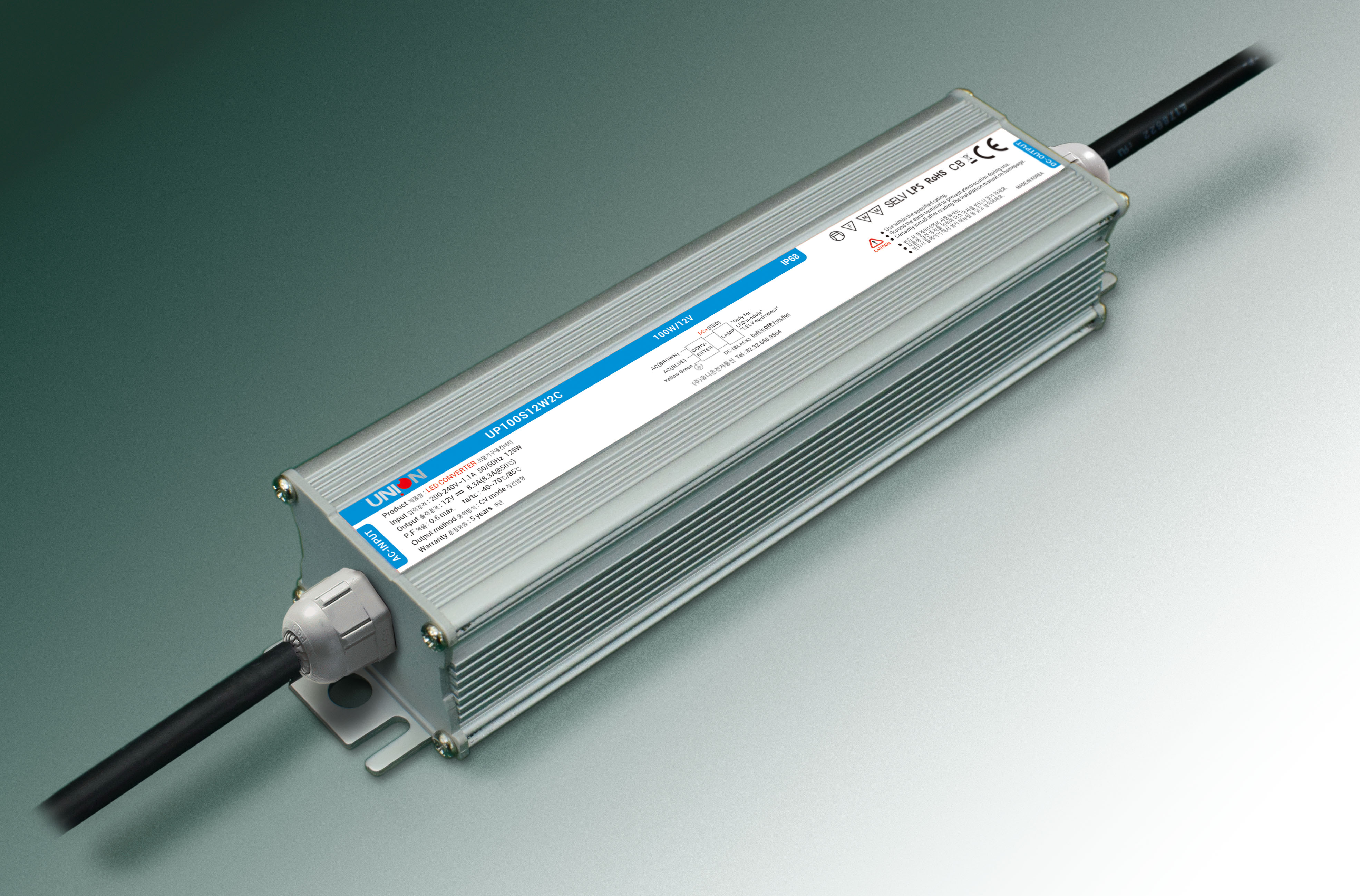 Constant Voltage design Protection : Over load / Over voltage / Short circuit Cooling by free air co...