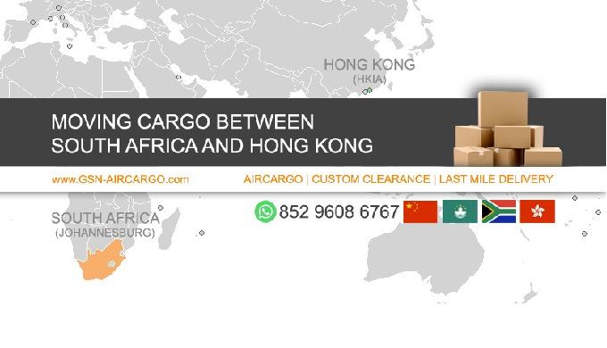 GSN Aircargo - We move aircargo between South Africa and Hong Kong