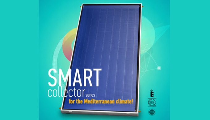 ECOFER produces the solar thermal collector SMART series, designed for the Mediterranean climate wit...