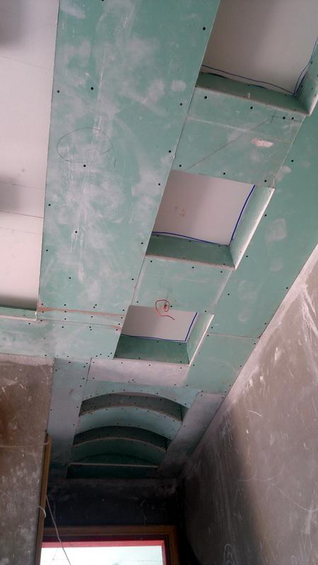 تصميمات هندسية - أسقف معلقه- ديكور – تشطيبات داخلية وخارجية