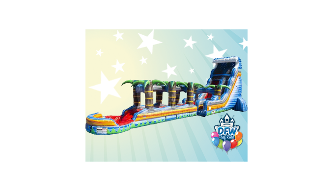 This is our Tallest, Longest, Fastest, and most AWESOME Slide in our inventory! Super cool 22' tall ...