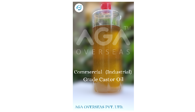 Commercial Grade Castor oil (Industrial)-Commercial castor oil is obtained from a mixture of the fir...