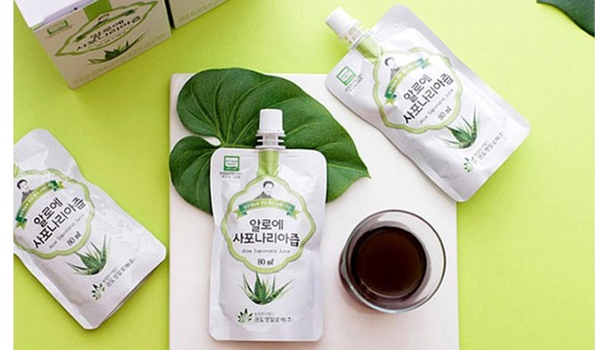 # organic aloe saponaria juice Aloe Saponaria is a different breed from the Aloe that is generally r...