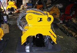 Maxpower compactor is designed to easy handling and covers excavators 5-33tons.