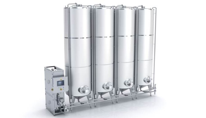 The CIP station is designed for cleaning facilities, devices and pipelines on production lines accor...