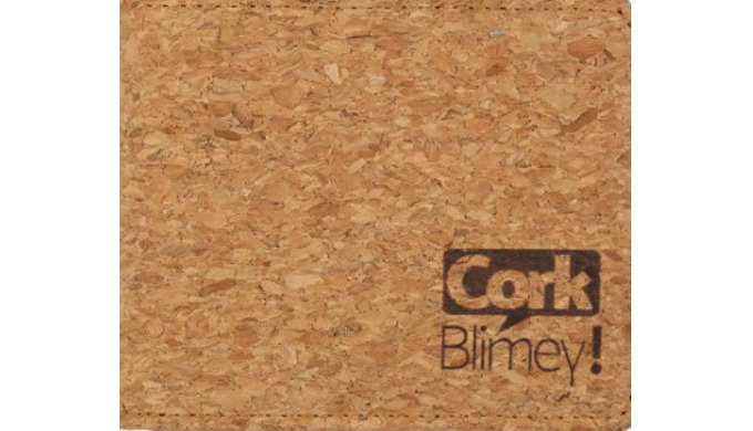 Think it's leather? No, it comes from a tree. Cork Blimey offers a variety of eco-friendly cork prod...