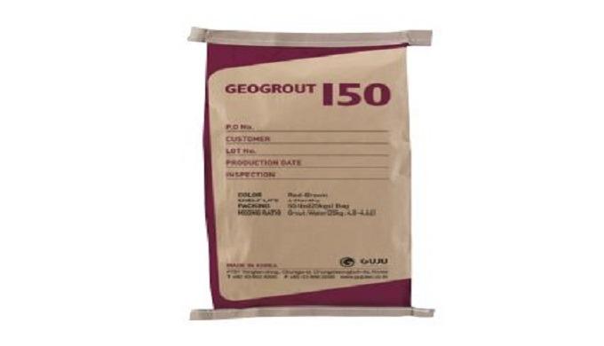 GEOGROUT150 je předem namíchaná nesmršťovací malta s vysokou hustotou, kterou lze použít k míchání p...