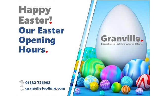 All of us at Granville would like to wish all of our customers a Happy Easter. Our Easter opening ho...