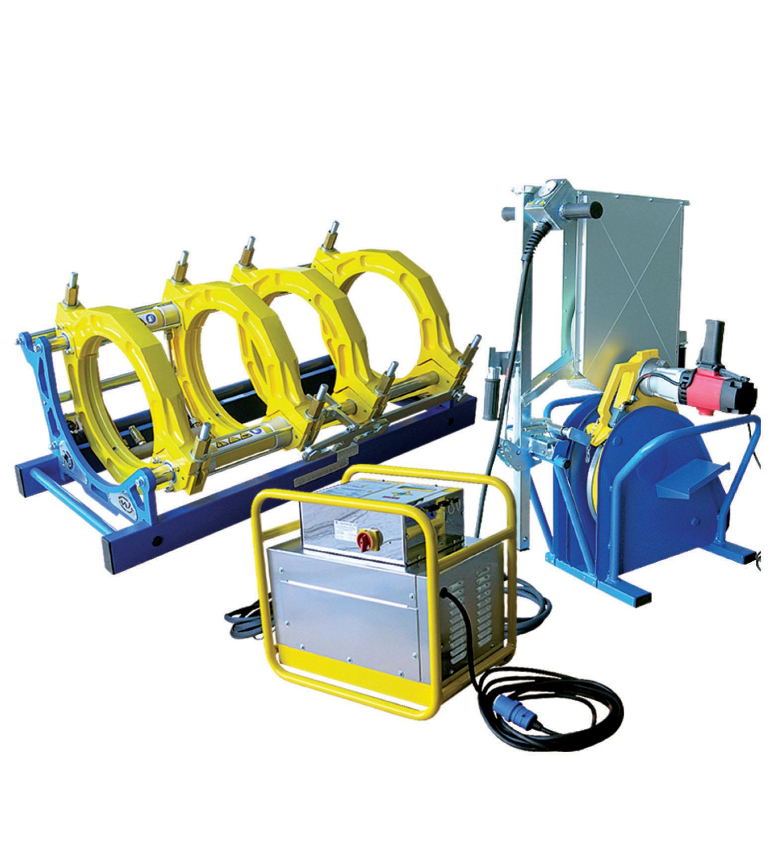Large choix d'équipement pour le soudage des tubes et accessoires en PEHD L'équipement permet, après...