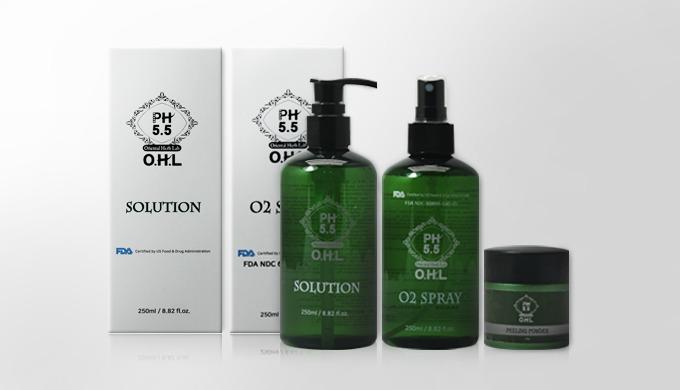 OHL Herbal Peeling Set | acne