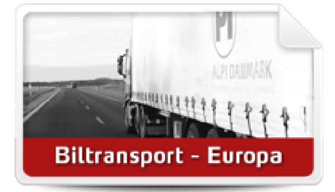 BILTRANSPORT EUROPA ALPI tilbyder biltransport i Danmark og til og fra hele Europa med egne kontorer...