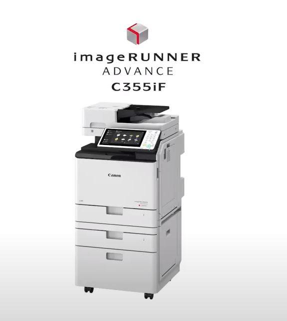 Espace Copieur vous présente un large choix d'imprimantes A4, dont : Le CANON IR Advance C356P Forma...