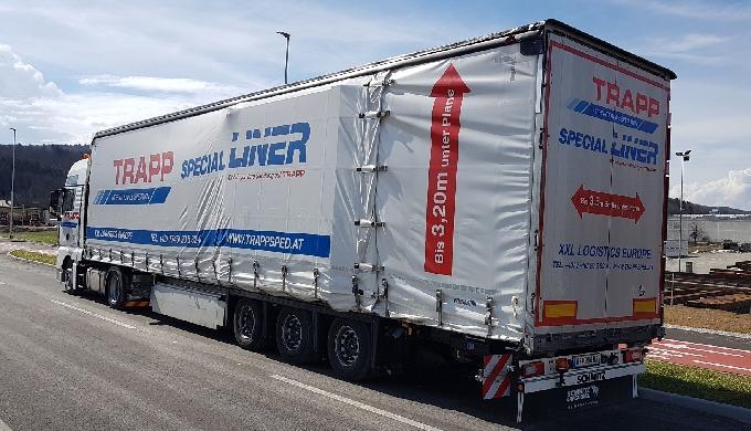 Ugentlig afgang i hel- og lasttrafik til og fra Østrig-Bayern-Danmark Lastning og losning ved hjælp ...