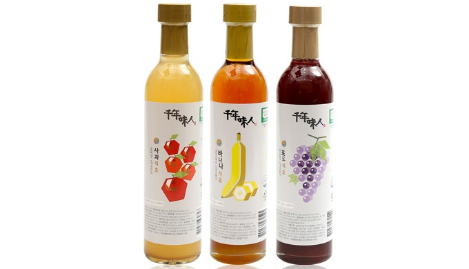 Premium Organic Fruit Vinegar