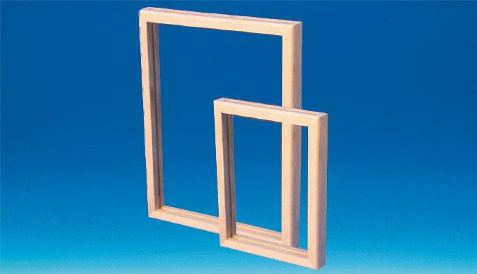 Cadre bois en hêtre de très grande qualité. Ouverture par le petit côté. Peut recevoir : - Plaque ar...