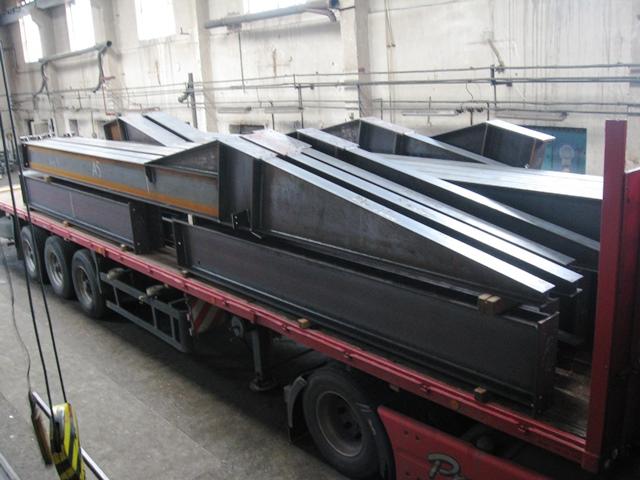 Výroba ocelových konstrukcí dle požadavku zákazníka