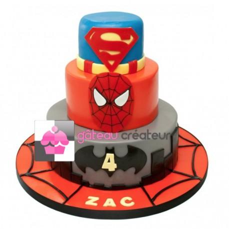 Commandez votre Gâteau d'anniversaire Garçon en ligne et faîtes-vous livrer à votre domicile !