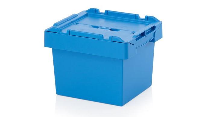 Ящики пластиковые литые.