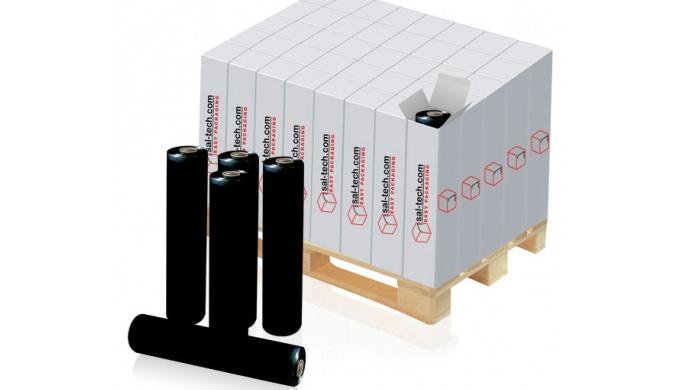 E3 Wrap Film Black LLDPE. Palle wrap film til brug med E3 Palle indpakning, når du ønsker at skjule ...