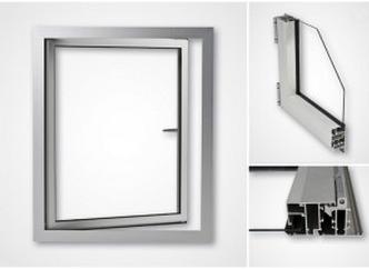 Fönster eller fönsterband. Fasta eller öppningsbara fönster. Öppningsbara fönster öppnas inåt. Norma...