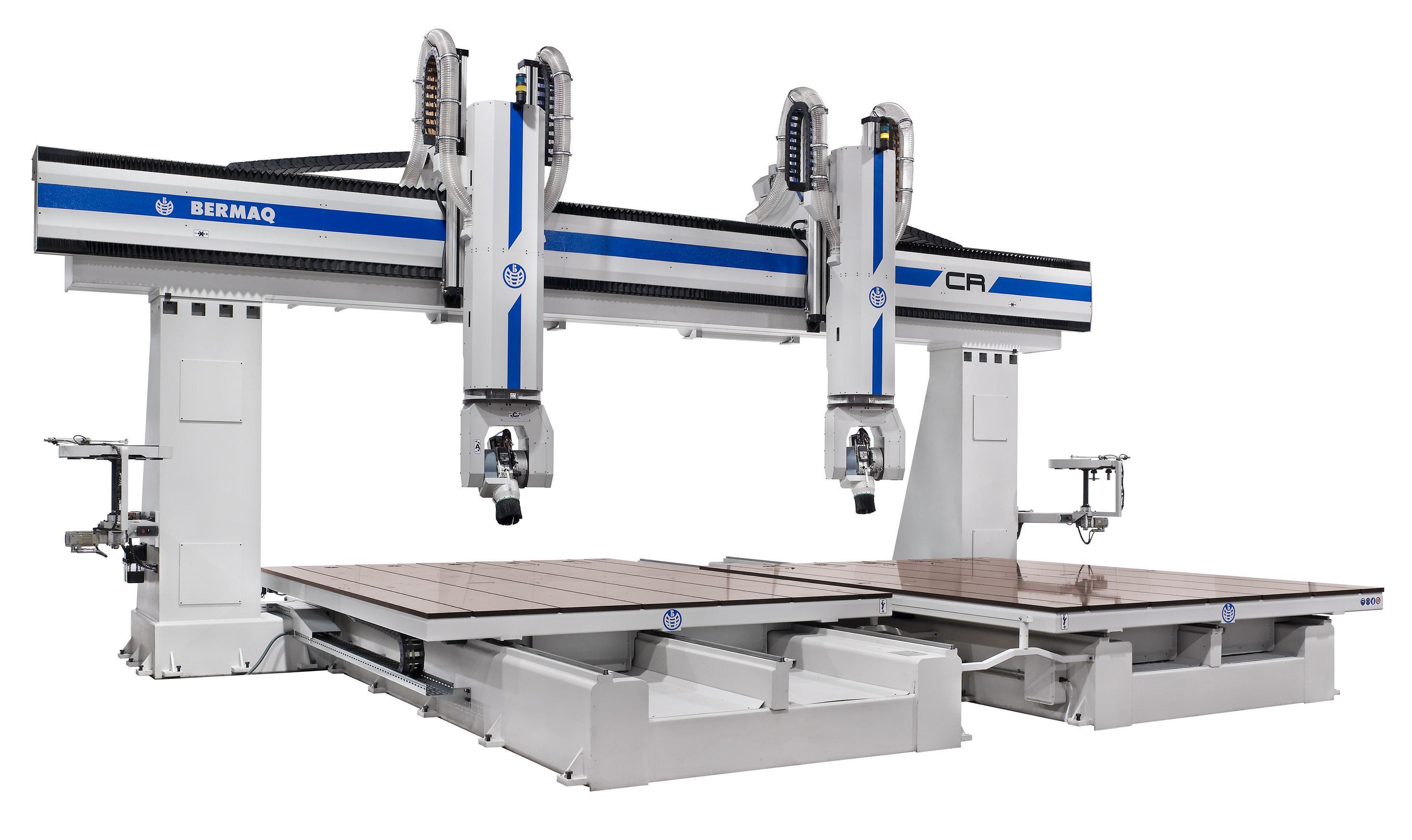 Máquina especialmente diseñada para mecanizar a alta velocidad maderas y otros materiales no férrico...