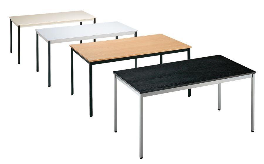 div. Modelle und Farben Tischplatte melaminharzbeschichtet, 19 mm stark, mit 3 mm starker ABS-Kante....