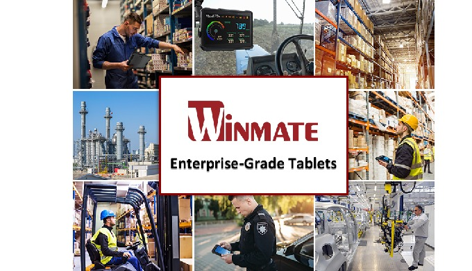 Winmate Enterprise-Grade Tablet Computers — Powerful, Rugged, Versatile