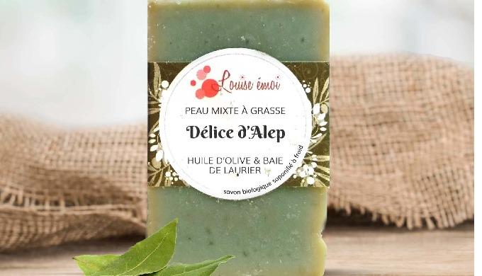 PEAU MIXTE À GRASSE Savon Alep à froid, un classique revisité incontournable De l'huile d'olive, de ...
