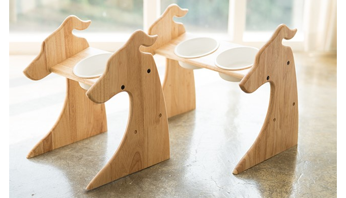 Medium Table - Premium Elevated Dogs and Cats Feeder
