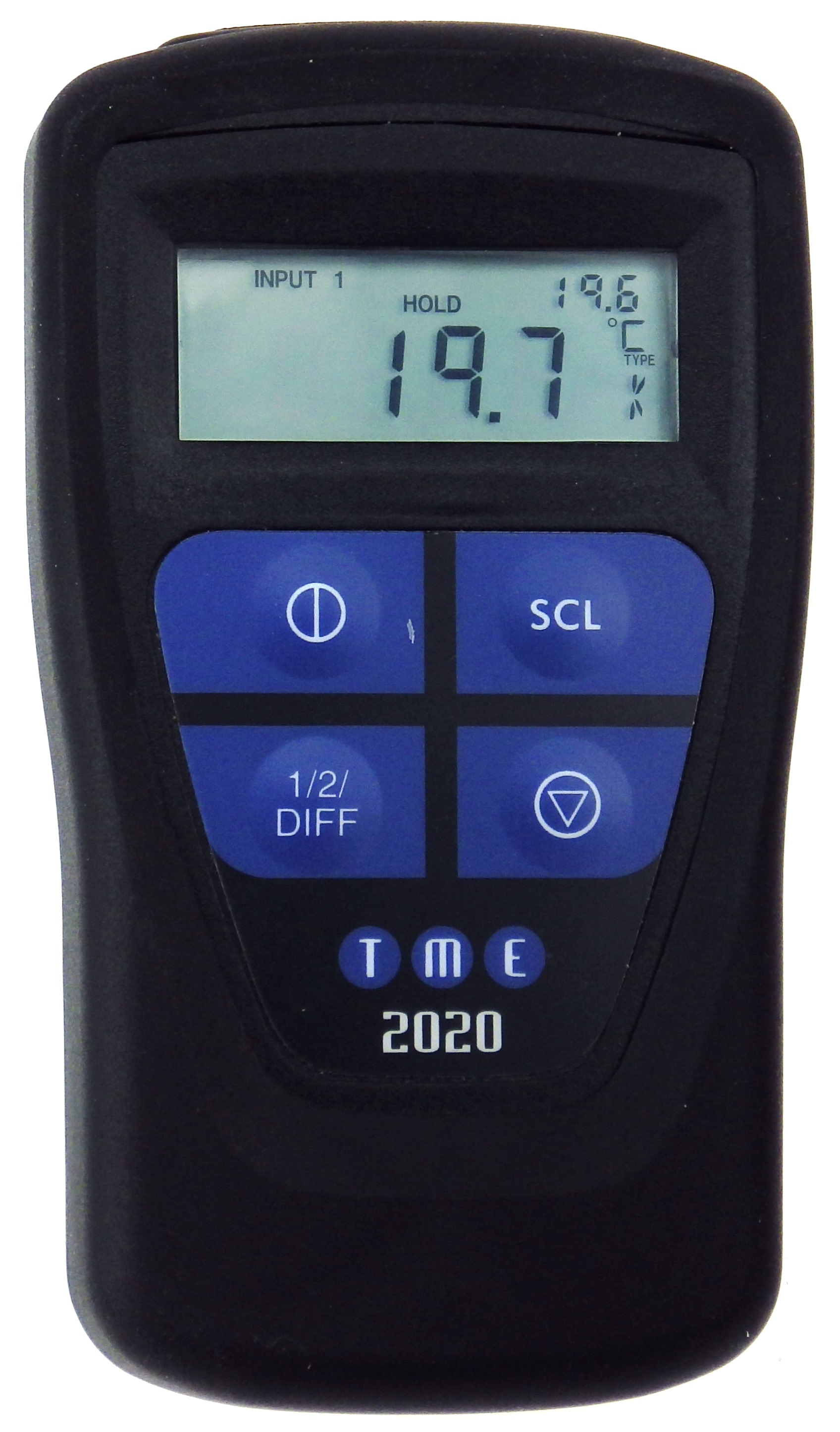 This Waterproof, Self-Calibrating Thermometer has dual input and infra-red capability, along with se...