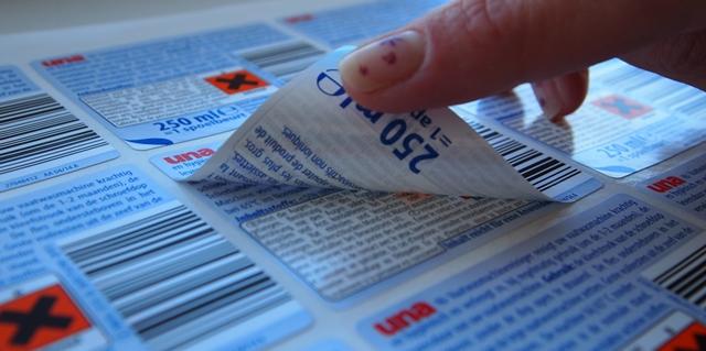 Sendvičové etikety a štítky