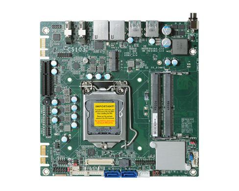 CS103-Q370/C246 | 9th Gen Intel Core | Mini-ITX | DFI