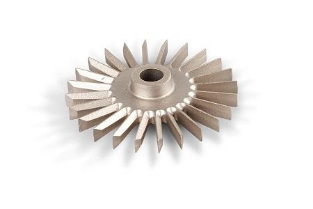 Pumpehjul i blybronze Cu Sn10 Pb10-C CC495K-GS Vægt Kg 1,3