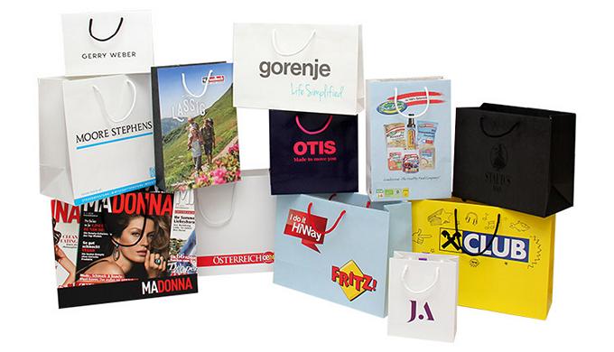 Werbetaschen, bedruckt mit Logo, Text oder Motiv sind ein aufmerksamkeitsstarkes Werbemittel für Ihr...