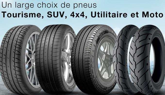 OuiPneus.ma leader de la vente des pneus en ligne au Maroc, vous propose un large choix de pneus tou...