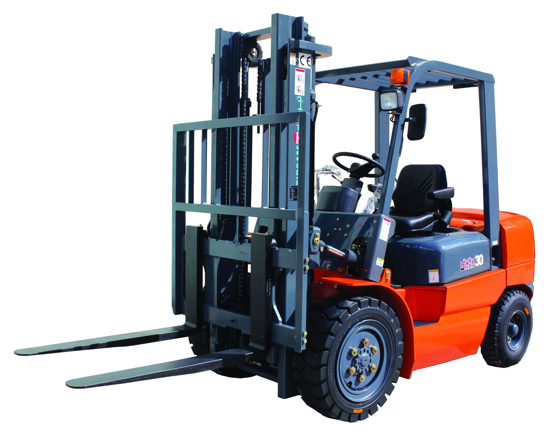 Un chariot petit mais costaud pour une utilisation moyenne avec une capacité de levage de 3 tonnes. ...