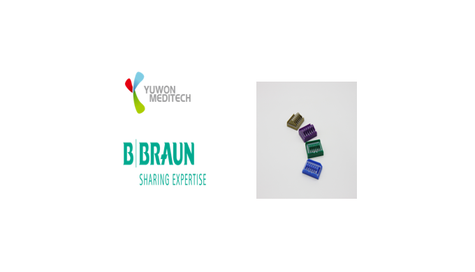 YUWONMEDITECH has signed an agreement with B. Braun to supply vascular clips