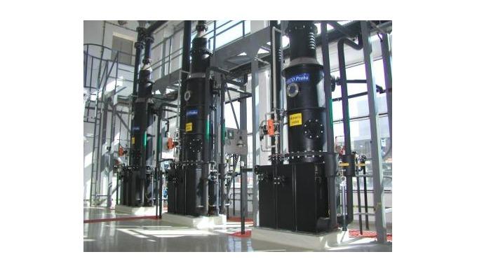 Absorbéry Absorbéry jsou aparáty, využívající rozdílné schopnosti plynů vstřebávat se do kapalin. Dí...