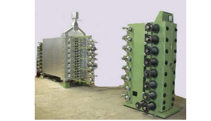 Wire Horizontal Enamelling Machine SWG - 25 To 36 MM Size - 0.508 To 0.1939