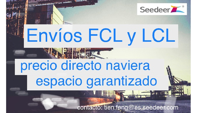 TRANSPORTE MARITIMO FCL & LCL