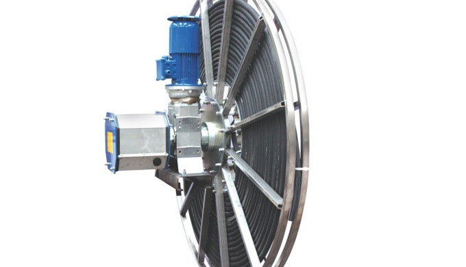 Avvolgicavo a motore / Motorized cable reel