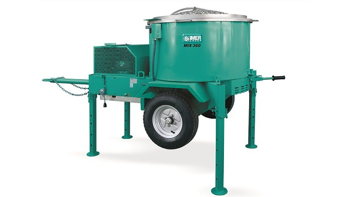 MORTARMAN 360 (Made in Italy) Vertical Shaft Mortar, Precast and Specialty Product Mixers Output has...