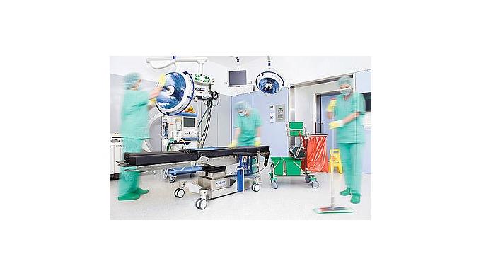 Úklid zdravotnických zařízení, úklid nemocnic