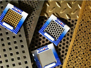 Perforated sheets in mild steel and stainless steel