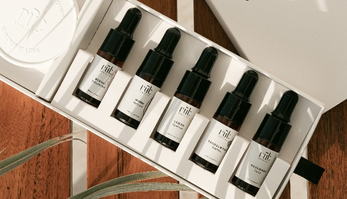 Discover our wide range of essential oils, body oils and diffusers