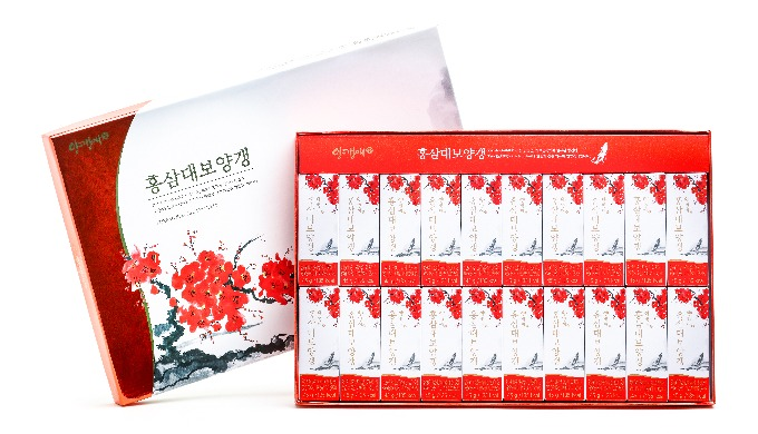 Yanggaengae Red ginseng bean jelly set