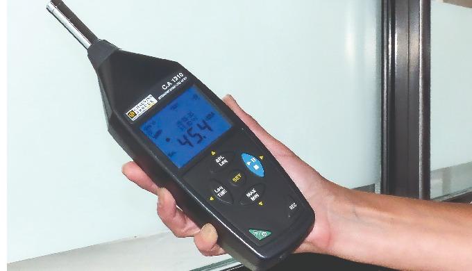 Sonomètre CA 1310 classe 2   de Chauvin Arnoux : le bruit maîtrisé !