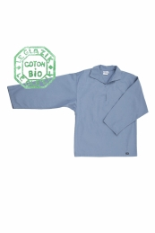 La vareuse authentique depuis 1928 LE GLAZIK en toile coton bio, made in France (vareuse et tissu).