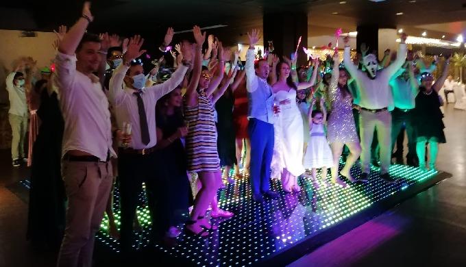 Pista de Dança LED